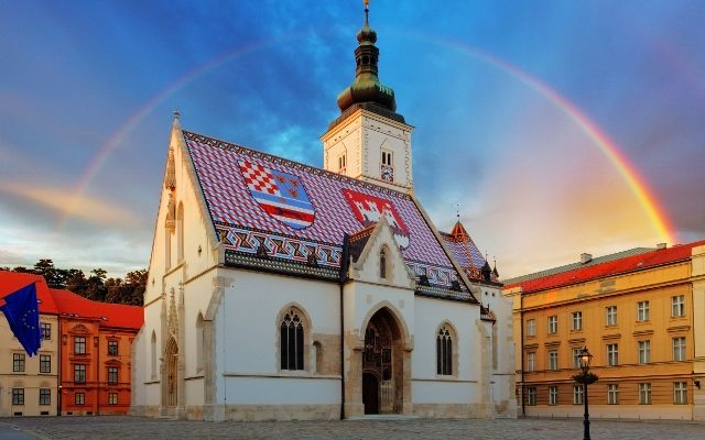 32515511 - zagreb church - st mark